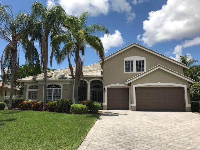 6701 Conch Court, Boynton Beach, FL 33437 (#RX-10601353) :: Ryan Jennings Group