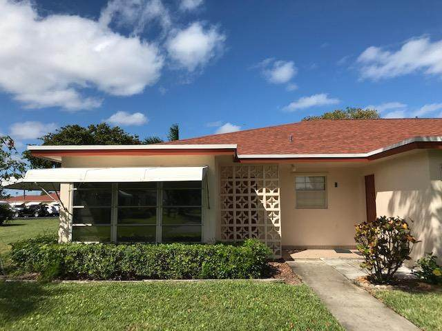 4525 NW 3rd Street A, Delray Beach, FL 33445 (#RX-10603944) :: Ryan Jennings Group