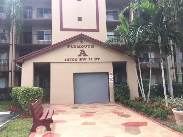 13700 SW 11th Street A 211, Pembroke Pines, FL 33027 (#RX-10607345) :: Ryan Jennings Group