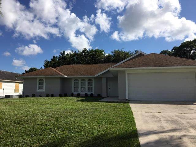 1050 SW Provincetown Lane, Port Saint Lucie, FL 34953 (#RX-10613646) :: Ryan Jennings Group