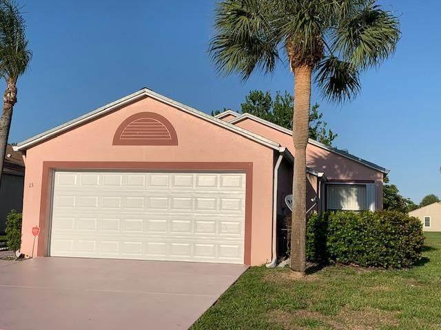 13 Bentwater Circle, Boynton Beach, FL 33426 (#RX-10620732) :: Ryan Jennings Group