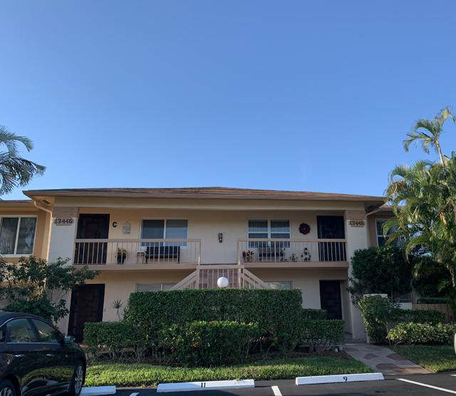 13446 Sabal Palm Court D -  10, Delray Beach, FL 33484 (#RX-10621553) :: Ryan Jennings Group