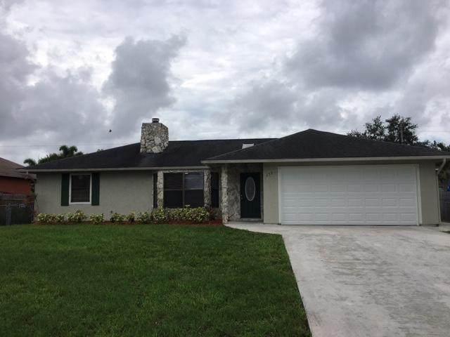 630 SW Nichols Terrace, Port Saint Lucie, FL 34953 (#RX-10630845) :: Ryan Jennings Group