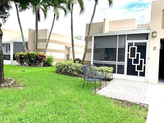 19000 Stewart Circle #8, Boca Raton, FL 33496 (MLS #RX-10632475) :: Berkshire Hathaway HomeServices EWM Realty