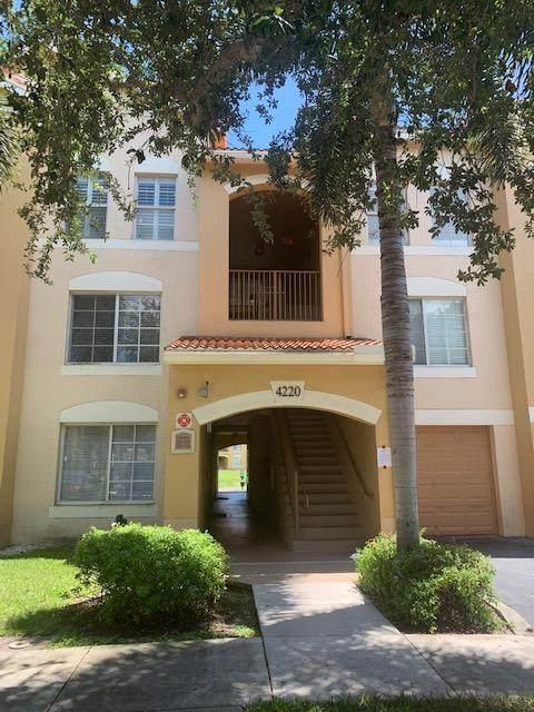 4220 San Marino Boulevard #203, West Palm Beach, FL 33409 (#RX-10633645) :: Posh Properties