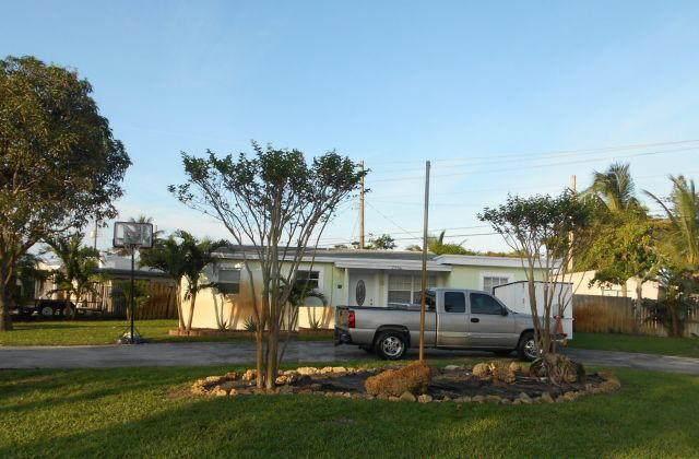 2981 NE 12th Terrace, Pompano Beach, FL 33064 (#RX-10633656) :: The Rizzuto Woodman Team