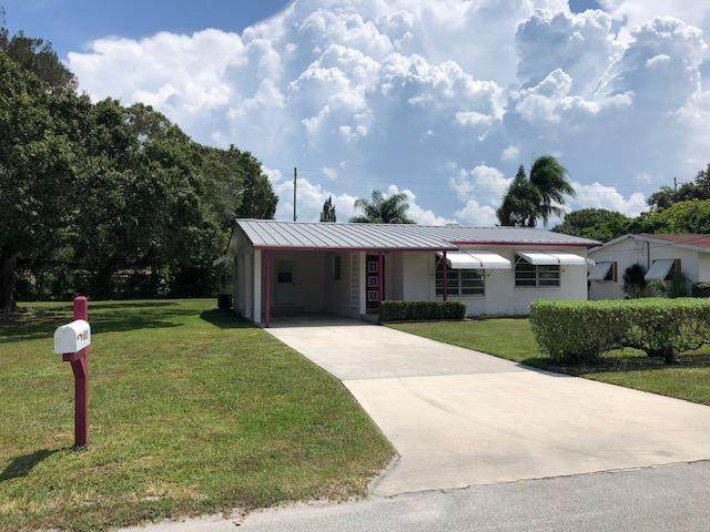 605 Wisteria Avenue, Fort Pierce, FL 34982 (#RX-10636657) :: Ryan Jennings Group