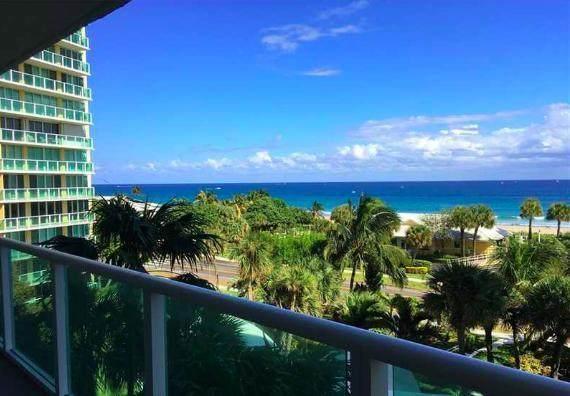 333 NE Ne 21st Avenue #608, Deerfield Beach, FL 33441 (MLS #RX-10638412) :: Berkshire Hathaway HomeServices EWM Realty