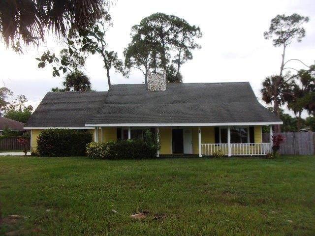 1101 SW Dalton Avenue, Port Saint Lucie, FL 34953 (MLS #RX-10639596) :: Berkshire Hathaway HomeServices EWM Realty