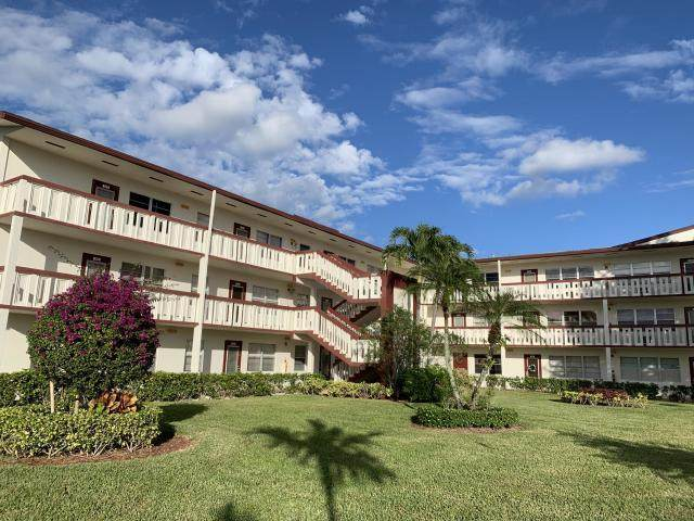 311 Fanshaw H, Boca Raton, FL 33434 (#RX-10641003) :: The Rizzuto Woodman Team