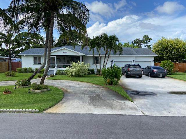 4337 State Drive, West Palm Beach, FL 33406 (#RX-10641509) :: Realty One Group ENGAGE