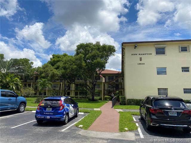 13500 SW 1st Street 111U, Pembroke Pines, FL 33027 (#RX-10641979) :: Ryan Jennings Group