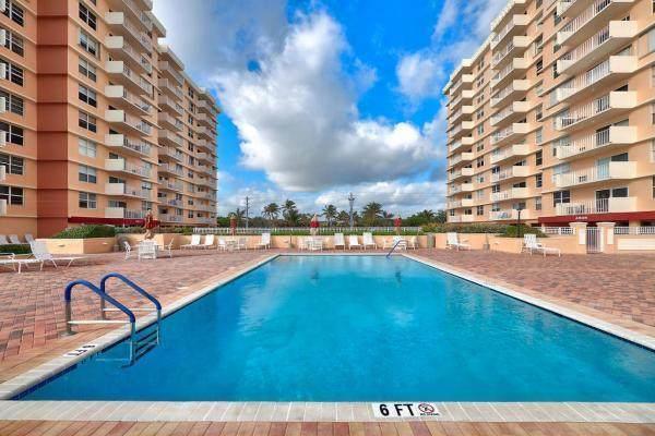 4511 S Ocean Boulevard #802, Highland Beach, FL 33487 (MLS #RX-10643771) :: Berkshire Hathaway HomeServices EWM Realty