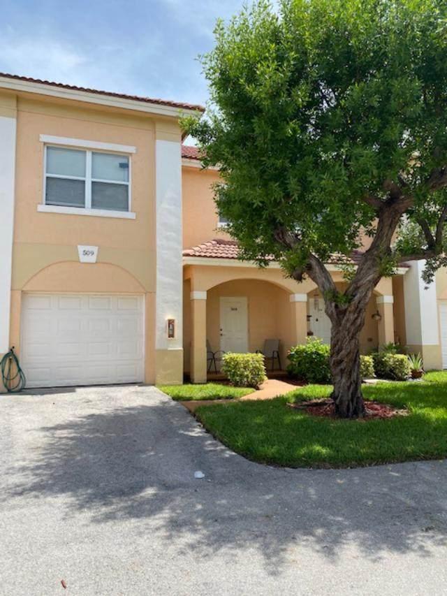 509 Talia Circle, Palm Springs, FL 33461 (MLS #RX-10643902) :: Berkshire Hathaway HomeServices EWM Realty