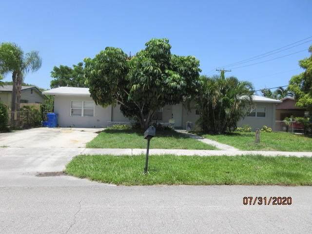 1309 W Mango Street, Lantana, FL 33462 (#RX-10645228) :: Real Estate Authority