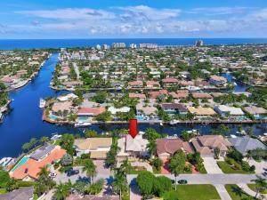 4280 NE 23rd Terrace, Lighthouse Point, FL 33064 (MLS #RX-10647354) :: The Jack Coden Group