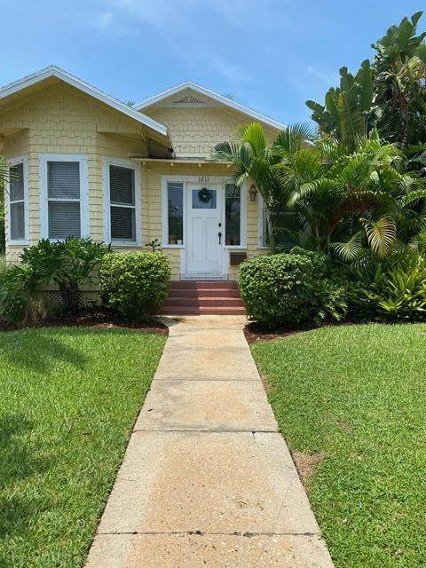 1211 Florida Avenue, West Palm Beach, FL 33401 (MLS #RX-10655055) :: Berkshire Hathaway HomeServices EWM Realty
