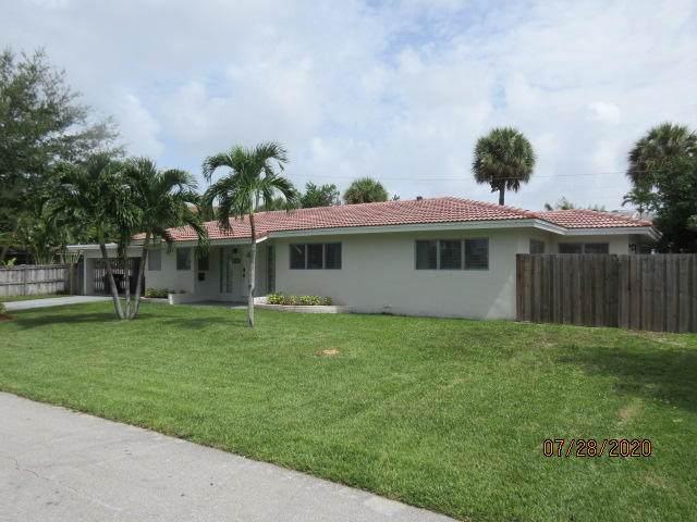 825 NE 18th Street, Fort Lauderdale, FL 33305 (MLS #RX-10656872) :: Berkshire Hathaway HomeServices EWM Realty