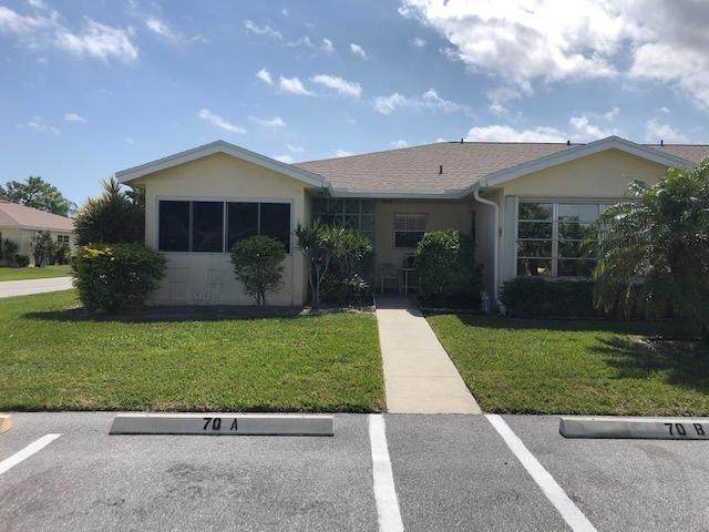 5397 Lakefront Boulevard A, Delray Beach, FL 33445 (#RX-10658917) :: Posh Properties