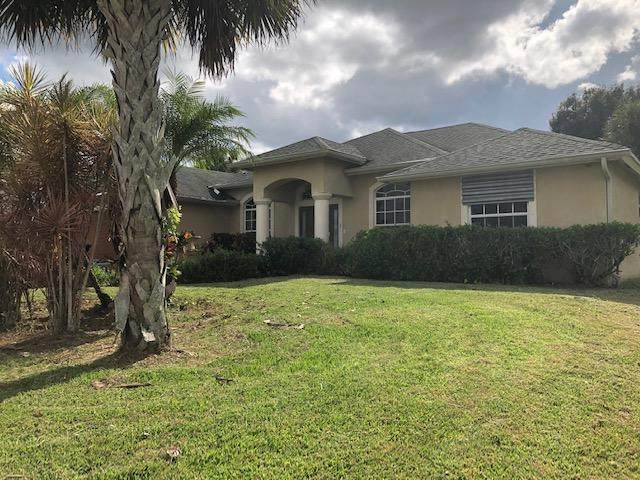 3812 SW Crary Street, Port Saint Lucie, FL 34953 (MLS #RX-10659578) :: THE BANNON GROUP at RE/MAX CONSULTANTS REALTY I