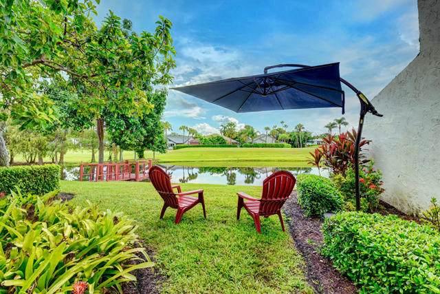 900 Greensward Lane 105-G, Delray Beach, FL 33445 (#RX-10659627) :: Posh Properties
