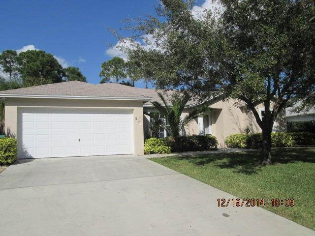 591 SE Wallace Terrace, Port Saint Lucie, FL 34983 (#RX-10660120) :: Posh Properties