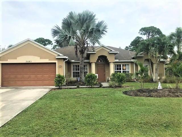 2085 SE Bisbee Street, Port Saint Lucie, FL 34952 (MLS #RX-10660260) :: Berkshire Hathaway HomeServices EWM Realty