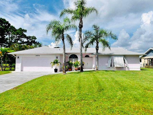 2474 SE Marius Street, Port Saint Lucie, FL 34952 (MLS #RX-10683263) :: THE BANNON GROUP at RE/MAX CONSULTANTS REALTY I