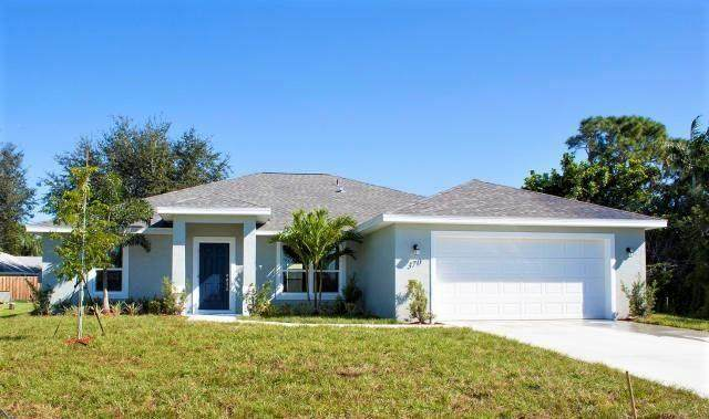 1118 SW Idol Avenue, Port Saint Lucie, FL 34953 (MLS #RX-10684168) :: THE BANNON GROUP at RE/MAX CONSULTANTS REALTY I