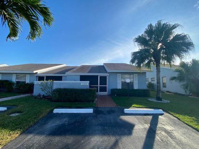 4350 Lucerne Villas Lane, Lake Worth, FL 33467 (#RX-10684795) :: Exit Realty Manes Group