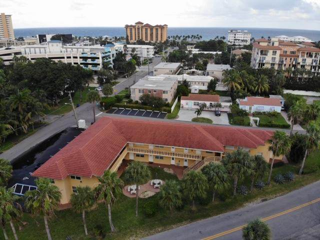 90 NE 19th Avenue #6, Deerfield Beach, FL 33441 (MLS #RX-10685136) :: Berkshire Hathaway HomeServices EWM Realty
