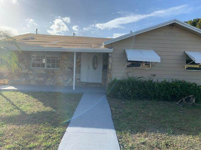 205 S S B Street, Lake Worth, FL 33460 (MLS #RX-10685503) :: Laurie Finkelstein Reader Team