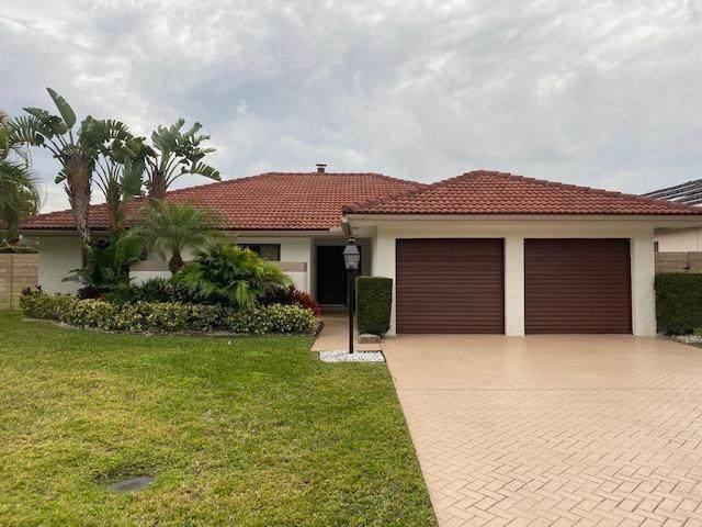 959 Greensward Lane, Delray Beach, FL 33445 (MLS #RX-10686734) :: Berkshire Hathaway HomeServices EWM Realty