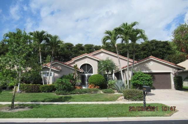 7416 Falls Road W, Boynton Beach, FL 33437 (MLS #RX-10701614) :: The Paiz Group