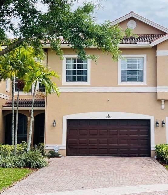 11492 Silk Carnation Way C, Royal Palm Beach, FL 33411 (MLS #RX-10704273) :: Berkshire Hathaway HomeServices EWM Realty