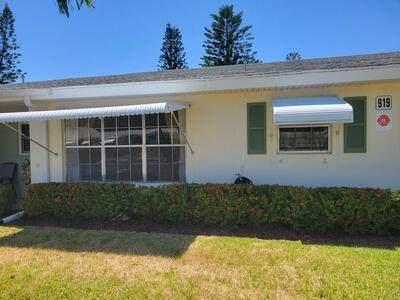 919 Savannas Point Drive B, Fort Pierce, FL 34982 (MLS #RX-10707649) :: The Jack Coden Group