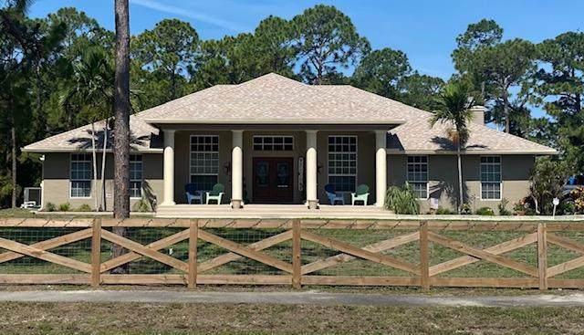 4991 Calamondin Boulevard, Loxahatchee, FL 33470 (MLS #RX-10712785) :: Berkshire Hathaway HomeServices EWM Realty