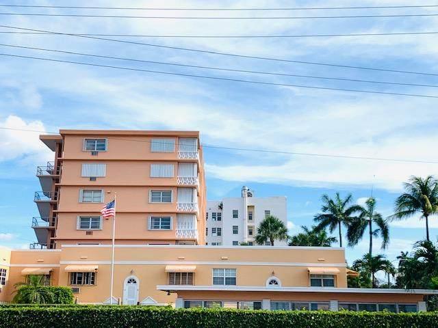 101 S Golfview Road #1, Lake Worth Beach, FL 33460 (MLS #RX-10714283) :: Berkshire Hathaway HomeServices EWM Realty
