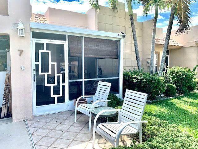 9035 Flynn Circle #7, Boca Raton, FL 33496 (MLS #RX-10714664) :: The Jack Coden Group
