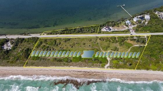7700 S Ocean Drive Villa 6, Jensen Beach, FL 34957 (MLS #RX-10717300) :: The Paiz Group