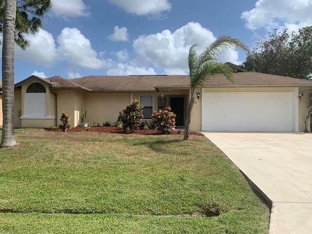 732 SE Lansdowne Avenue, Port Saint Lucie, FL 34983 (#RX-10718193) :: Michael Kaufman Real Estate
