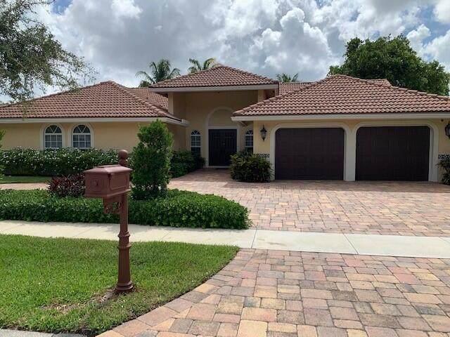 2901 NW 25th Way, Boca Raton, FL 33434 (#RX-10721938) :: Michael Kaufman Real Estate