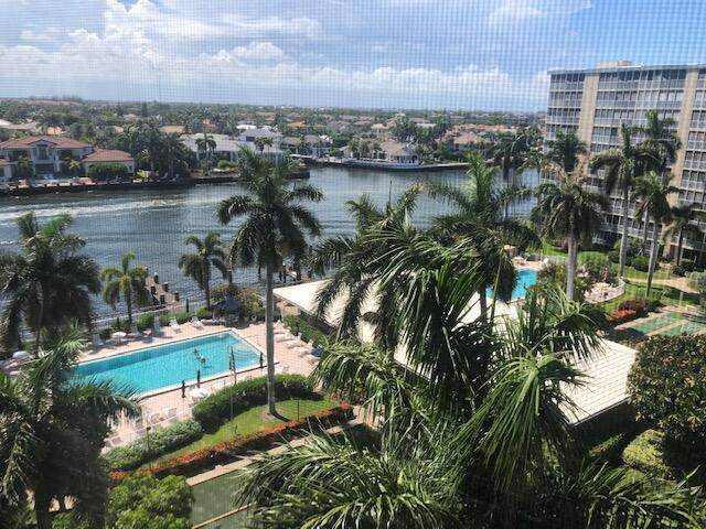 3300 S Ocean Boulevard 820-C, Highland Beach, FL 33487 (#RX-10723564) :: The Power of 2 | Century 21 Tenace Realty