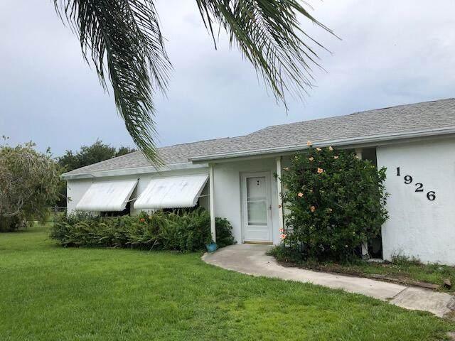 1926 SE Avanti Circle, Port Saint Lucie, FL 34952 (#RX-10727905) :: Baron Real Estate