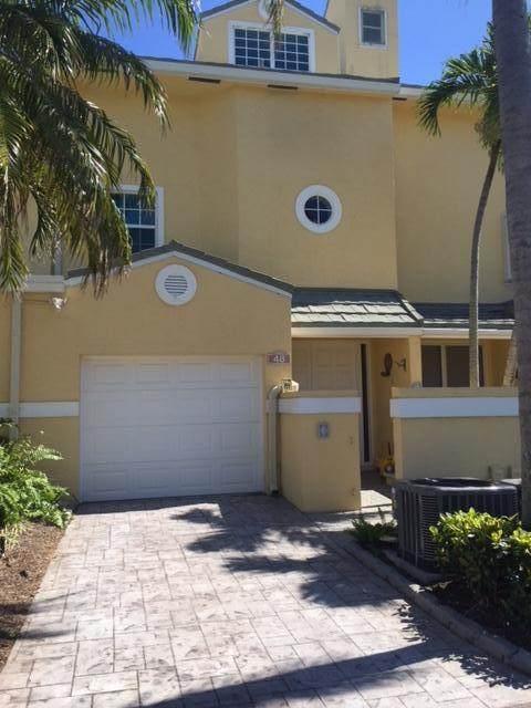 48 N Lakeshore Drive #48, Hypoluxo, FL 33462 (#RX-10732092) :: Posh Properties