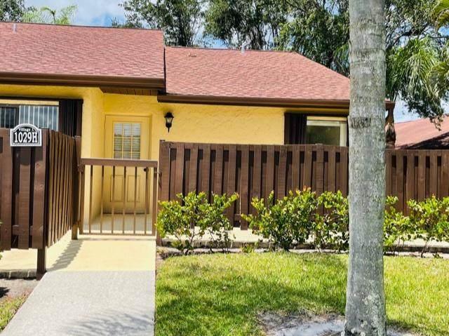 1029 Green Pine Boulevard H, West Palm Beach, FL 33409 (MLS #RX-10733381) :: Dalton Wade Real Estate Group