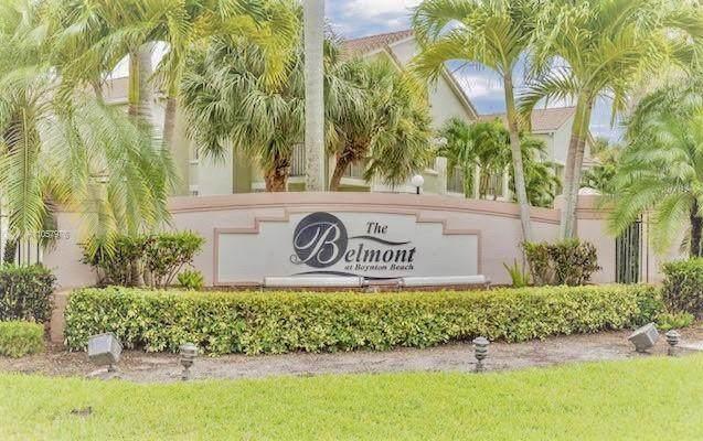 403 Belmont Place #403, Boynton Beach, FL 33436 (#RX-10733734) :: Posh Properties