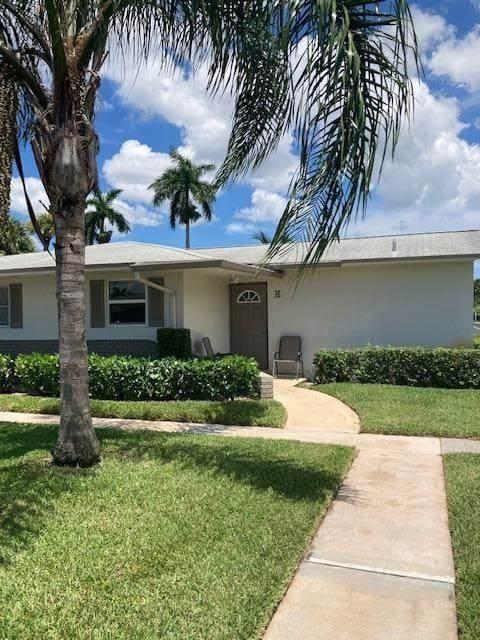 2885 Crosley  East Drive H, West Palm Beach, FL 33415 (#RX-10734849) :: Treasure Property Group