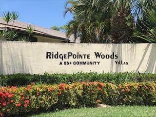 7 Ridge Pointe Drive C, Boynton Beach, FL 33435 (MLS #RX-10735038) :: United Realty Group