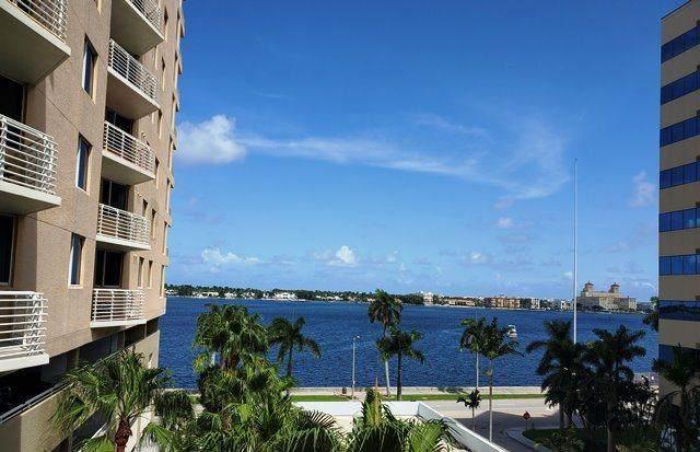 1551 N Flagler Drive 916-917, West Palm Beach, FL 33401 (MLS #RX-10739395) :: Berkshire Hathaway HomeServices EWM Realty